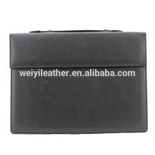 Customized Foldable A4 Leather Document Holder