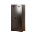 Wholesale 2 Door Clothes Cabinet Steel Bedroom Wardrobe