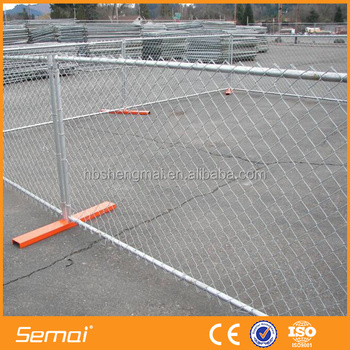 Cheap good quality removable chain link fence