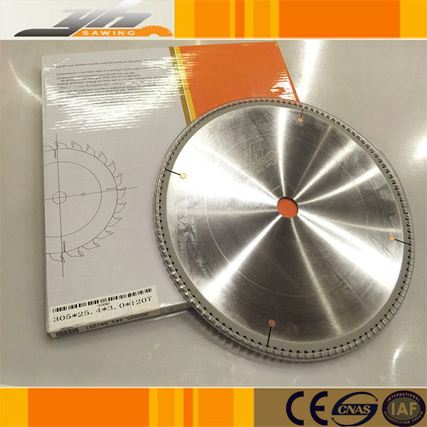 High hardness circular saw blade for aluminum heat sink /radiator cutting