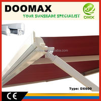 #DX600 Manual Retractable Canvas Carport Canopy