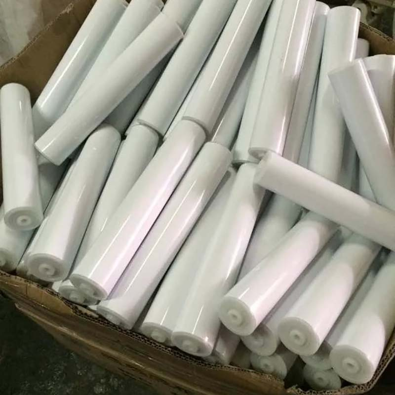 plastic pipe unpowered roller for conveyor