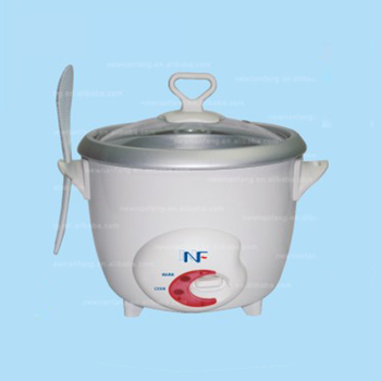 Commercial rice cooker for restaurant glass lid 0.6l mini electric indonesia New Design Shape Rice spoon socket Rice Cooker