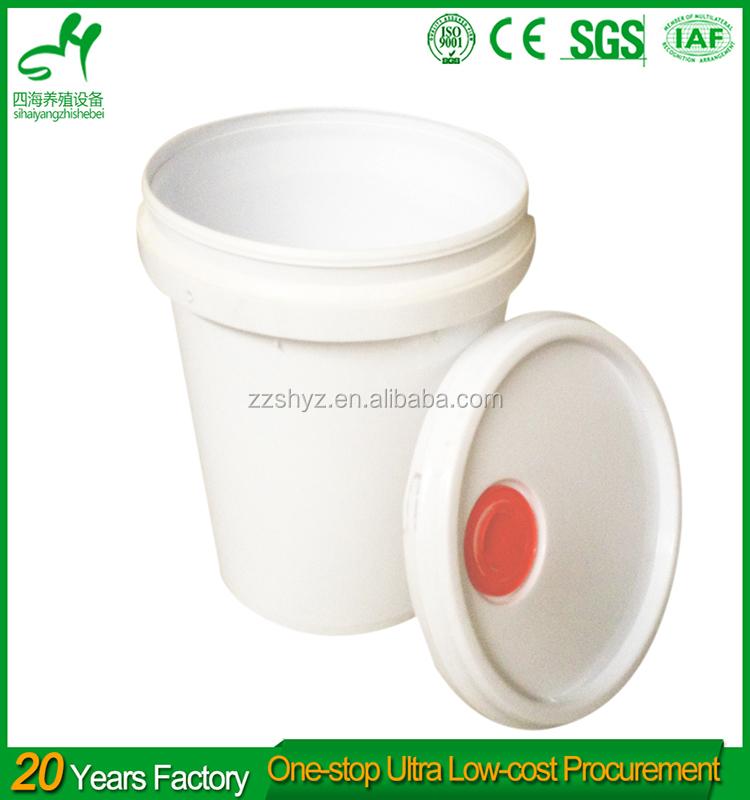 Good quality cheap plastic bucket with metal handle 55 gallon plastic drum