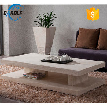 New arrival most popular marble coffee table for sale