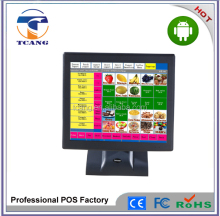 15 Inch All in one Touch Android POS System for bus
