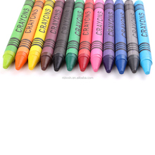 12color oil pastel set in hard plastic box wax crayon for kids drawing