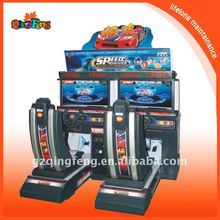 France popular simulator arcade race car amusement game machine supplier-32LCD Speed driver 1(MR-QF180)