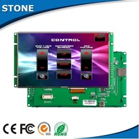 7' indoor TFT LCD display with best selling touch screen for top HMI