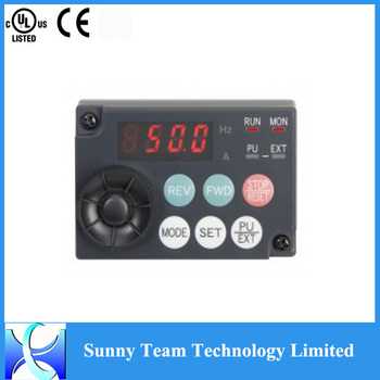 accessories operation panel FR-PA07 220v to 380v converter E700 series panel