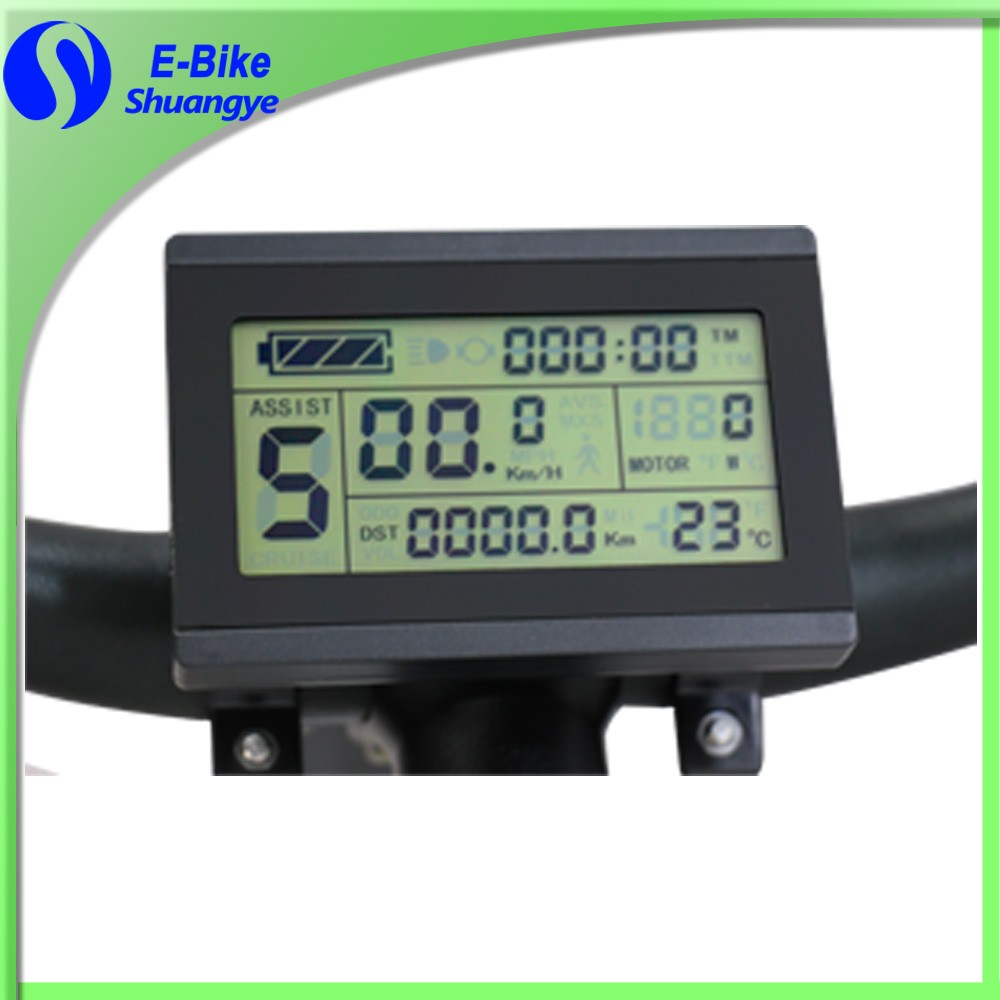 Shuangye 36v LCD display for electric bike parts