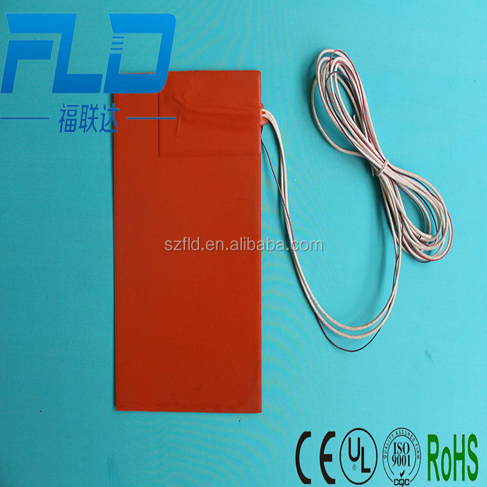 Electric silicone band heating plate
