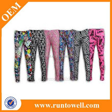 G001 wild color Christmas Snowflake custom wholesale women leggings