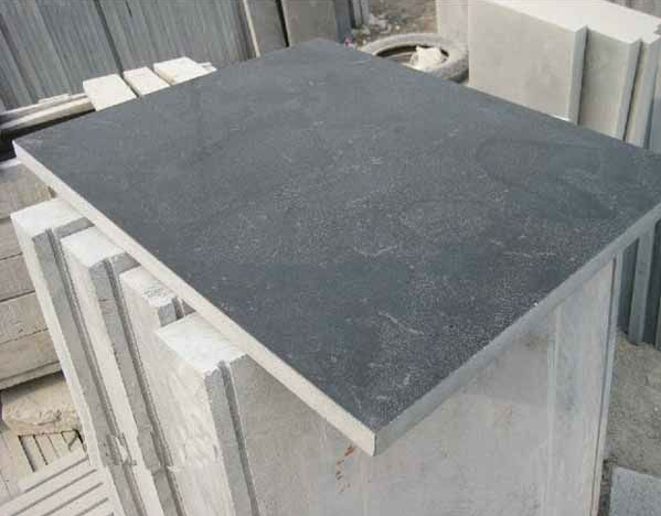Shandong blue limestone,China bluestone steps export to Belgium