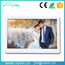 10.1inch digital photo frame hot sex ad player led picture frame