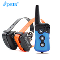 Ipets PET619-2 Hot Selling Vibration Electric Dog Training Collar For 2 Dogs