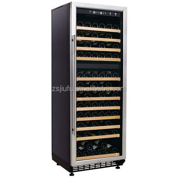 320L wine cooler with leather