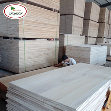 2016 Best Selling Paulownia Wood Timber Board