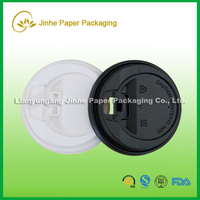 2015 hot sale paper cup with plastic cover cup lids
