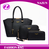 Amazon Europe Italian Style Ladies purses handbags 3 in1 set designer wholesale leather handbag from China supplier