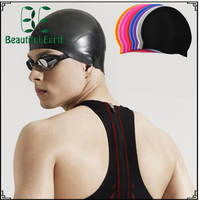 2017 Hot Selling Silicone Swimming Cap with custom logo