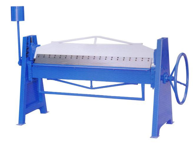 Easy hand operated manual folding machine