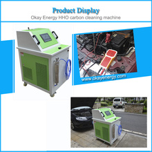 Oxyhydrogen engine carbon remover fuel injector cleaner machine