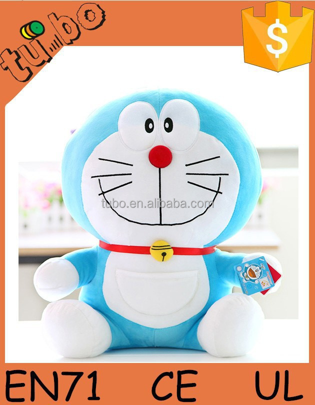 Hot Sale Plush Doraemon Toy,Cut Bule Fatty Plush Toy,Popular Stuffed Doraemon Plush Toy