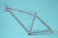Manufacturing fixed gear mtb titanium bike frames