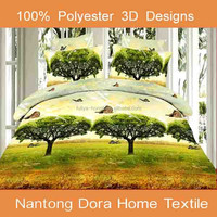 3d luxury weight microfibre bedding bed sheets ,3d printing bedding sets