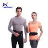 New version universal waist pack reflective running bag with pockets