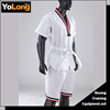 High quality short and white summer taekwondo uniform