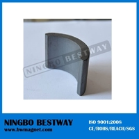 2014 New strong Produce Ferrite Segment Magnet/ Arc magnets sale