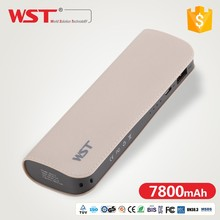 wholesale mobile DC 5V-2.4A 9000mAh power bank case