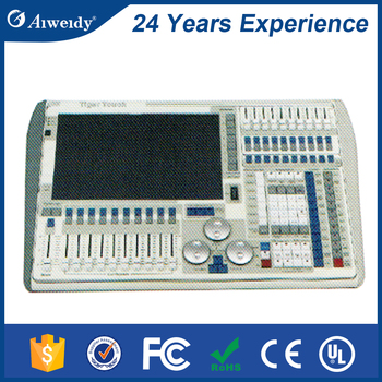 6144 channels professional stage lighting controller console tiger touch for stage light