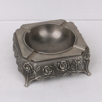 Home Furnishing,Teahouse antique metal ashtray