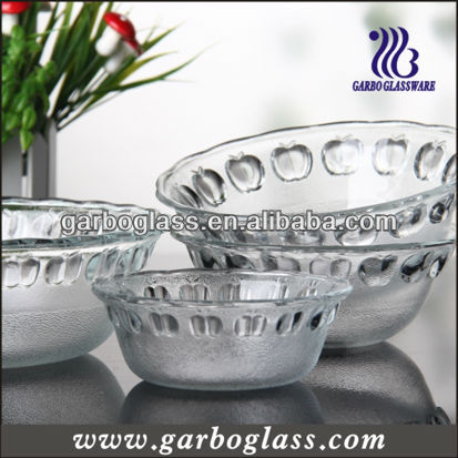 dinnerware of glass bowl,salad glass bowl
