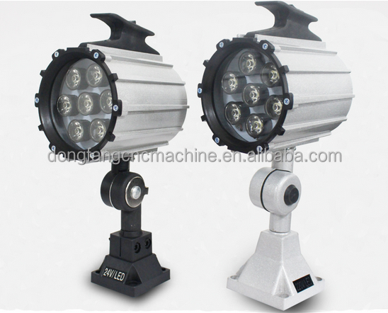 High brightness short arm workshop machine light