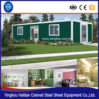 Portable luxury modular container house prefab living container home