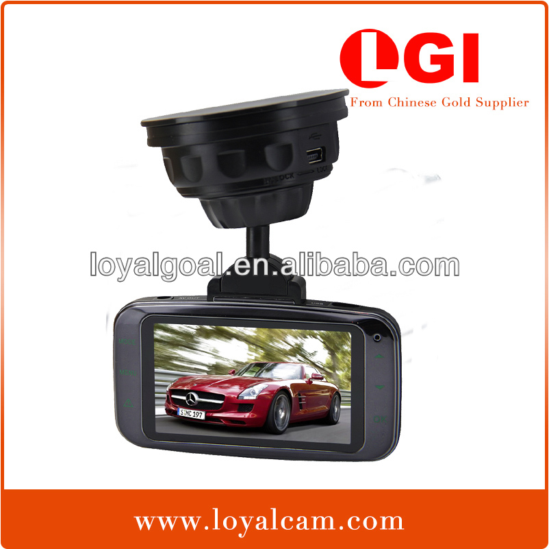 "Factory Ambarella BL800L 170 degree 2.7"" inch LCD Touch Button H.264 OEM 1080P digital Hd gps car recorder v1000gs"