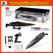 Feilun FT011 2.4G 55KM/H Speed Water Cooled Brushless Motor RC Racing Boat with Remote Control