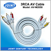 2016 Newest 3 RCA to 3RCA Cable VGA RCA with Ground Wire