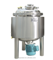 Magnetic stirring batch tank-cacuum mixing machine