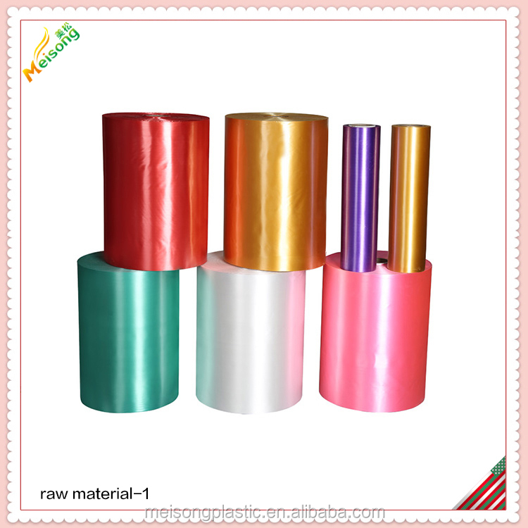 polyester ribbon plastic sheet in roll