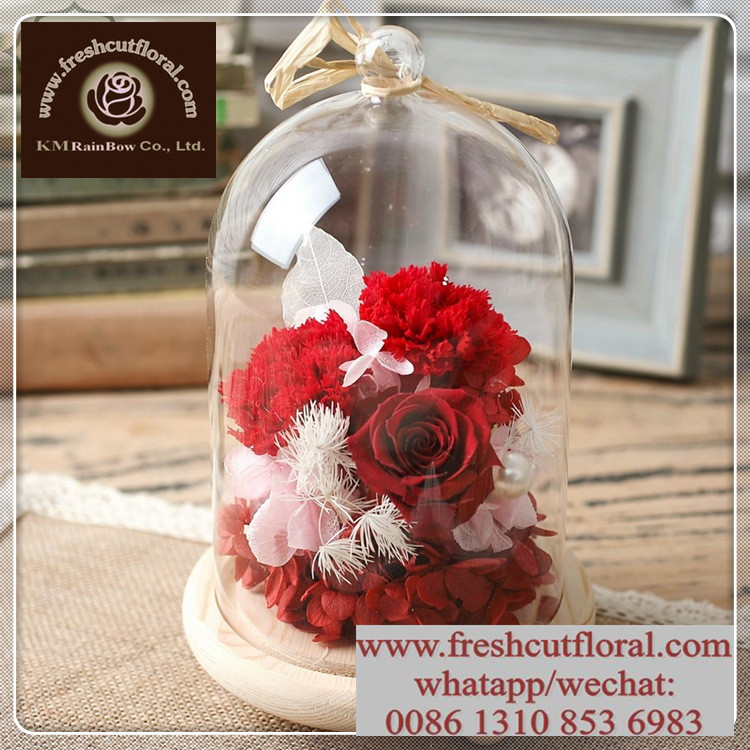 Flower Farm Unchanging Preserved Rose Flower Offered Year Round