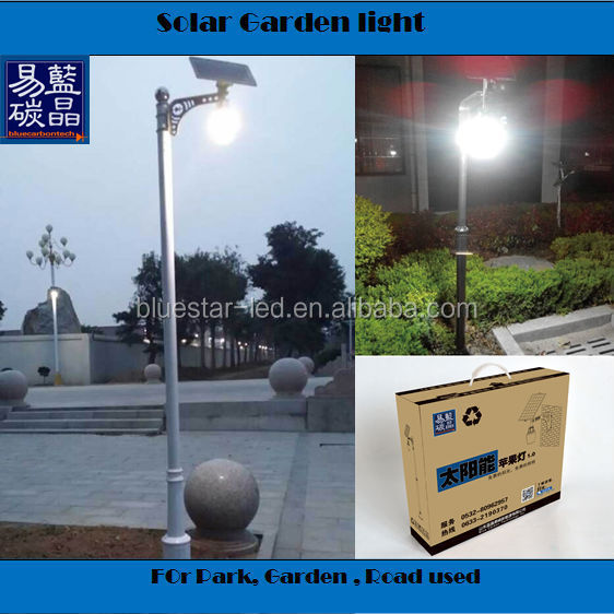 outside wall 5w led light solar garden light