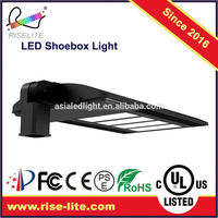 100w Aluminum Alloy Garage Lights Photocell All In One Solar LED Street Lights Retrofit Kits