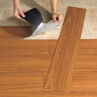 Indoor Usage and Plastic Flooring Type Interlocking PP PVC floor Wood Look pvc laminate flooring