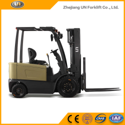Warehouse Super Market Use 3 Ton Hoppecke Battery Operated Forklift