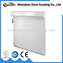 Roller shutter 3m remote motor outdoor motorized aluminum door